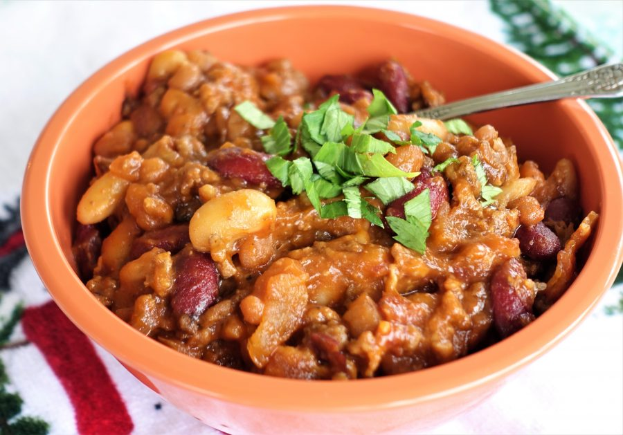 Calico Beans – (Slow Cooker Recipe )