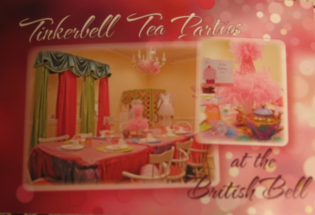 British Bell Tea Room Website