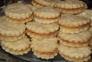 Cream Wafers - layered with icing