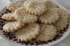 Cream Wafers - plain single cookies