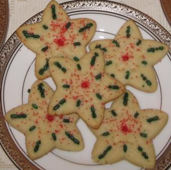 Sugar cookies - stars 2