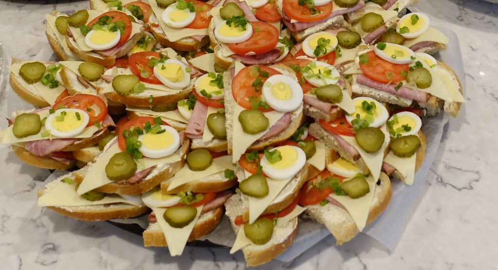 Ukrainian Kanapky – Open Face Sandwiches