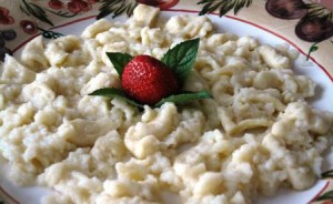 Quick and Easy Egg Drop Pasta – Recipe
