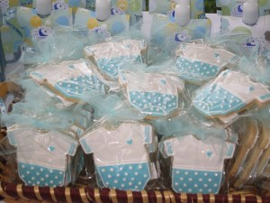 Baby Onesis Cookie favors