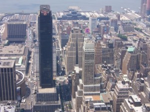 View 1 of NYC from Empire State Building
