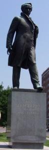 Monument of Tarasa Shevchenko - Ukrainian poet