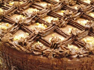 Caramel Chocolate cake 011