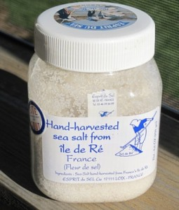 Fleur De Sel - special ingredient for Chocolate cake