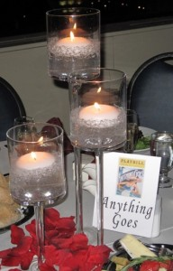 Special Table Setting - Anything Goes  - Playbill