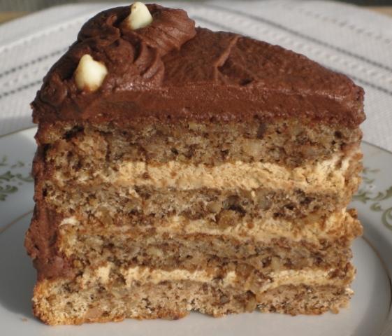 Ukrainian Festive Walnut Torte Recipe