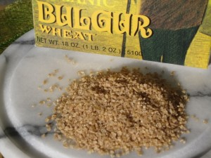 Bulgur grain