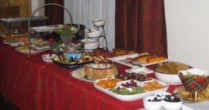 Party Time - Appetizer table