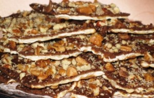 Passover foods -  Matzoh chocolate Candy