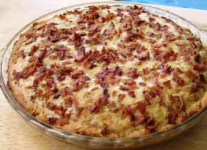 Onion Quiche - baked 2
