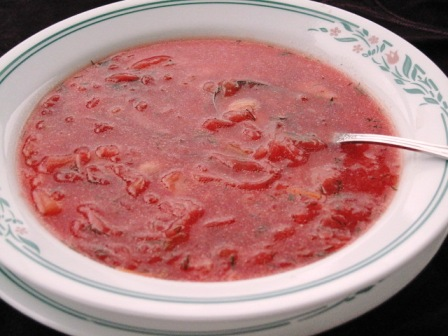 Ukrainian Red Beet Borscht – Quick and Easy Recipe