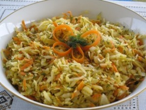 Sauerkraut Salad – Recipe