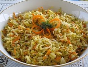 Saur Kraut salad