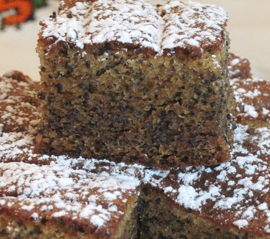 Poppy Seed Cake  - Close up