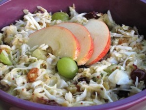 Sweet and Sour Coleslaw 2