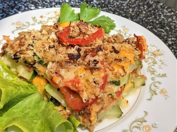 Zucchini Casserole – Vegetarian Recipe