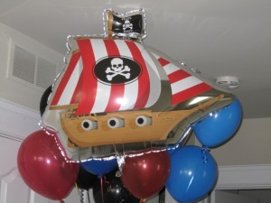 Pirate Ship Balloon