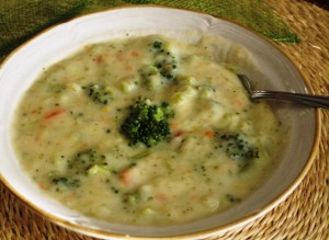 Homemade Broccoli Cheese Soup – Recipe