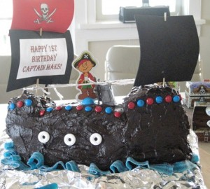 Pirate Ship Cake-1