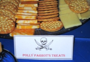Pirate special treats - Polly Parrot's Treats