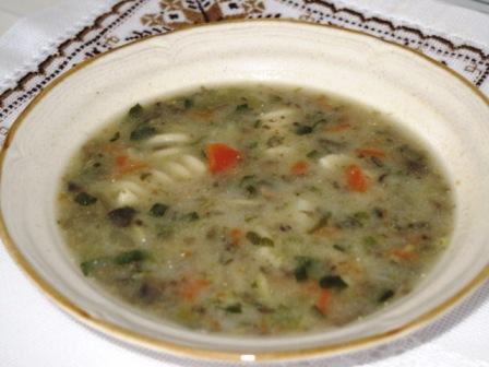 mushroom and veggie soup 3