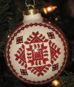 Ceramic ornament 2