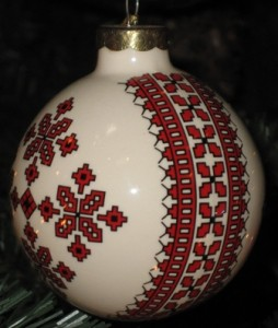 Ceramic ornament 6