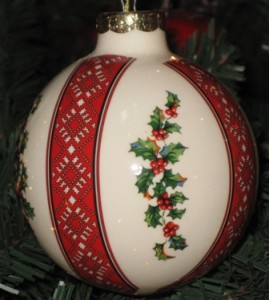 Ceramic ornament 8