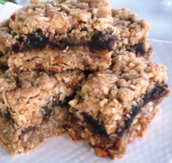 ... date square a 3 layer bar sweet gooey middle date layer date bars date