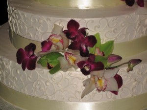The Wedding Cake - close up