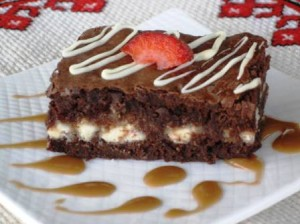 Layered brownies 2