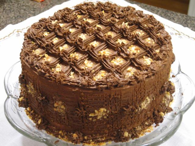 Chocolate Cake with Fleur De Sel Caramel Filling – Recipe
