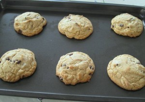 Chewy Chocolate Chip Cookies - one batch