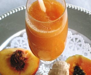 Peach, Pear, Papaya - Happy Tummy Smoothie