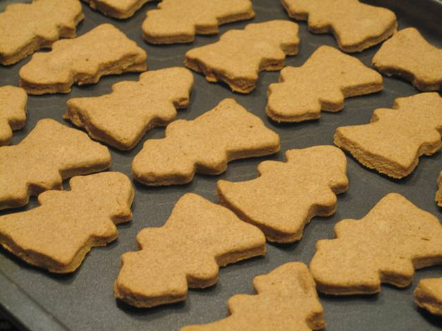 Homemade oatmeal peanut butter doggie  treats