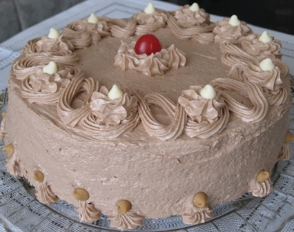 Cocoa Cake With Peanut Butter Frosting – Recipe