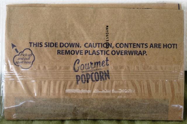 Popcorn Snowman - bag of gourmet popcorn