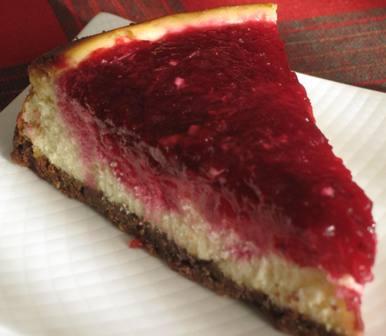 Cranberry Cheesecake – Recipe by Suburban Grandma