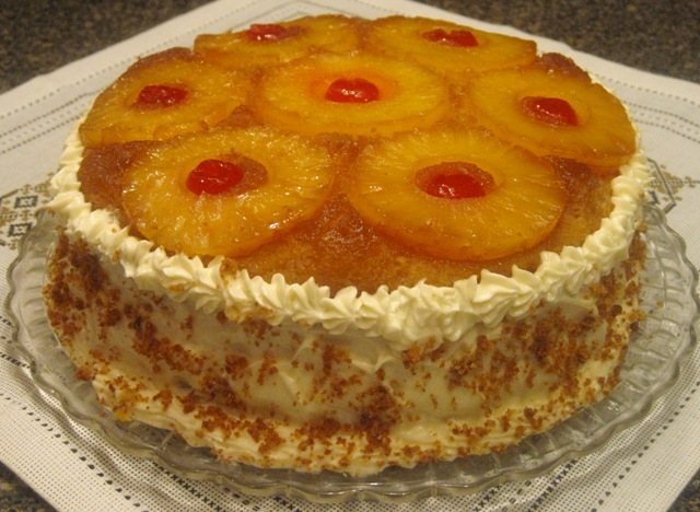 Superb Double Decker Pineapple Upside Down Cake Recipe Suburban Grandma Funny Birthday Cards Online Bapapcheapnameinfo
