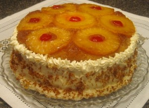Double-Decker Pineapple Upside-Down Cake – Recipe