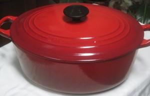 Dutch Oven cast iron pot