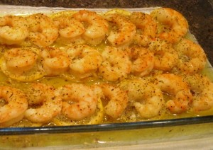 Shrimp Casserole – Lemon and Butter Recipe