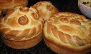 Ukrainian Easter Traditions - Paska Bread, Easter Basket, Easter Eggs ...