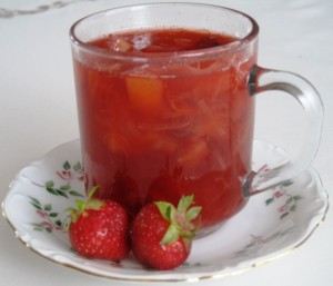 Strawberry - Rhubard Compot