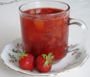 Strawberry - Rhubard Compot