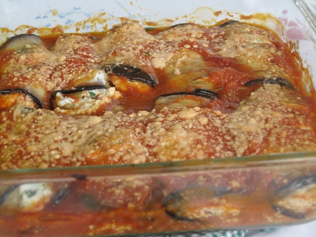 Eggplant Rollatini – Light Recipe